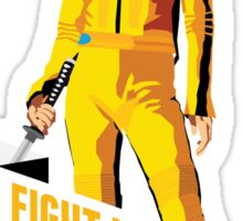 Fight Like a Girl: Beatrix Kiddo Sticker