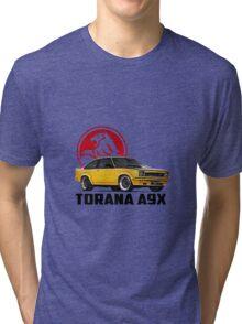 Holden Torana - A9X Hatchback - Yellow 2 Tri-blend T-Shirt
