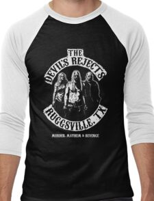 Devils Rejects, Ruggsvile, TX Men's Baseball ¾ T-Shirt