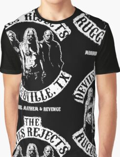 Devils Rejects, Ruggsvile, TX Graphic T-Shirt