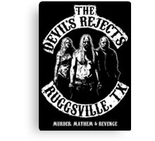 Devils Rejects, Ruggsvile, TX Canvas Print