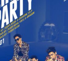 BIG BANG - WE LIKE 2 PARTY Sticker