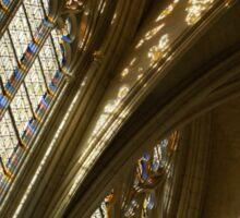 Glorious Light - Sainte-Chapelle de Vincennes, Château de Vincennes, Paris, France Sticker
