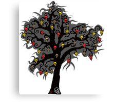 Tree of Skulls Canvas Print