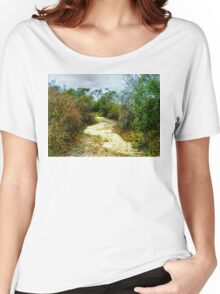Walk With Me Women's Relaxed Fit T-Shirt