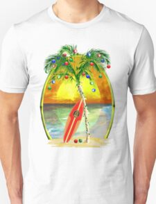 Beach Christmas Unisex T-Shirt