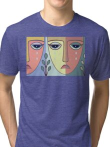 FACES #8 Tri-blend T-Shirt
