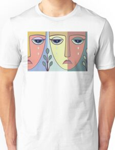 FACES #8 Unisex T-Shirt