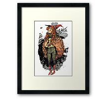 Witch Girl Framed Print
