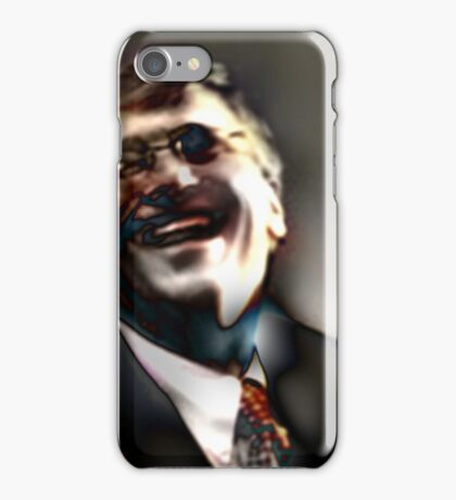 HARDMACRO - MONSANTO MADMAN - Does the Richest Man Alive want to kill us? iPhone Case/Skin
