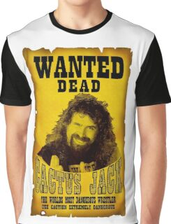 Wanted Dead Cactus Jack Graphic T-Shirt