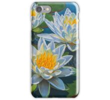 Water Lilies 12 - Fire and Ice iPhone Case/Skin