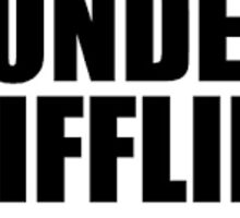 dunder mifflin logo sticker Sticker