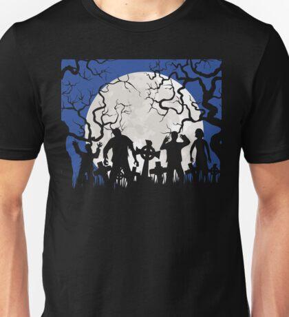 Zombie landscape Unisex T-Shirt