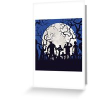 Zombie landscape Greeting Card