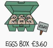 Eggs Box £3.60 Xbox 360 One Piece - Short Sleeve
