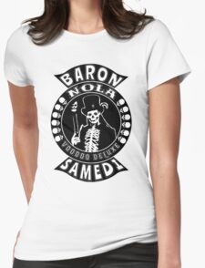 Baron Samedi Womens Fitted T-Shirt