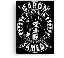 Baron Samedi Canvas Print