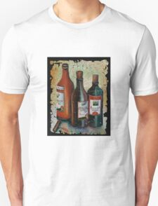 Georgian Wine Freco by Lena Owens/OLena Art Unisex T-Shirt