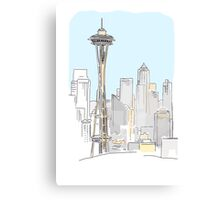 City tower Canvas Print
