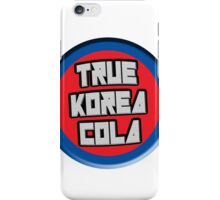 True Korea Cola Logo iPhone Case/Skin