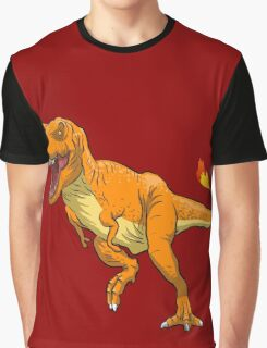 Charmander T-Rex Graphic T-Shirt