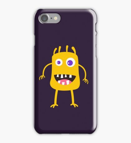 Goofy yellow monster iPhone Case/Skin