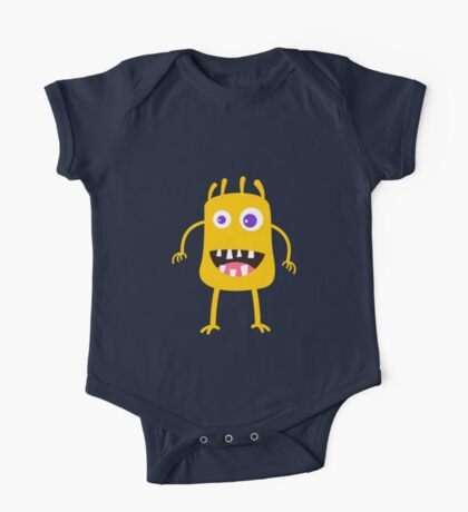 Goofy yellow monster One Piece - Short Sleeve