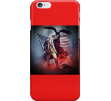 Donald Trump Leading America Out of Hell... iPhone Case/Skin