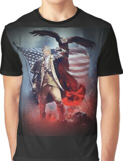 Donald Trump Leading America Out of Hell... Graphic T-Shirt