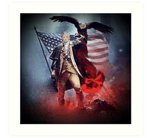 Donald Trump Leading America Out of Hell... Art Print