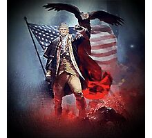 Donald Trump Leading America Out of Hell... Photographic Print