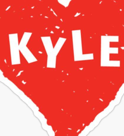 Kyle  Sticker