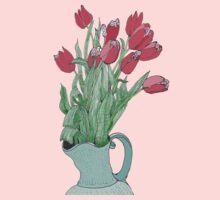 Springtime Tulips * Kids Tee