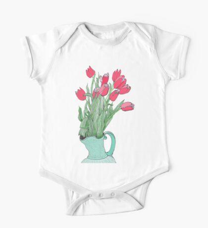 Springtime Tulips * One Piece - Short Sleeve