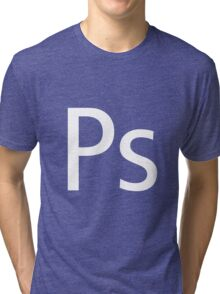 Ps - Photoshop Tri-blend T-Shirt