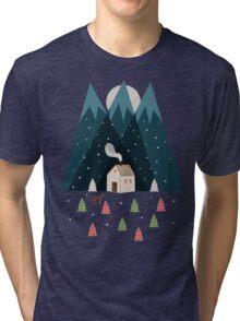 Winterworm Tri-blend T-Shirt