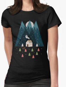 Winterworm Womens Fitted T-Shirt
