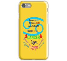 ▒★Star Sign-Cancer iPhone & iPod Case★▒ iPhone Case/Skin