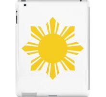 Philippines Sun iPad Case/Skin