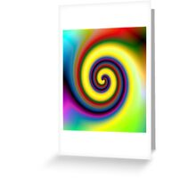 CoIL COlor Greeting Card