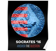 Socrates for President Poster