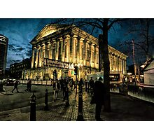Birmingham Town Hall Photographic Print