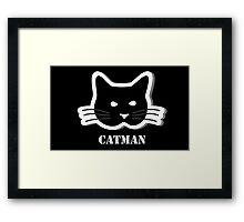 I am a catman  Framed Print