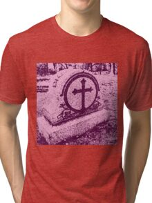 Pink Death Tri-blend T-Shirt