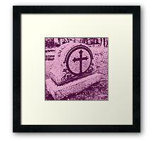 Pink Death Framed Print
