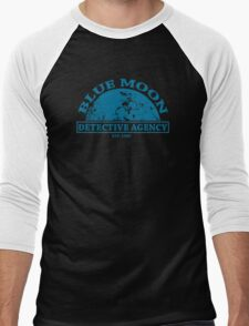 Blue Moon Detective Agency Men's Baseball ¾ T-Shirt
