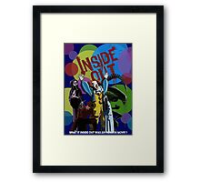 What if Iside Out was an horror movie? Framed Print
