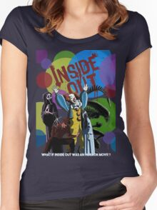 What if Iside Out was an horror movie? Women's Fitted Scoop T-Shirt