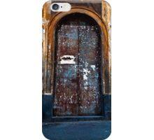 Old Sicilian Door of Catania iPhone Case/Skin
